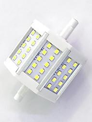 R7S 78mm 30x 2835SMD 6W Warm White / Cool White 600LM 220Beam Horizontal Plug Lights  Flood Light AC85-265V