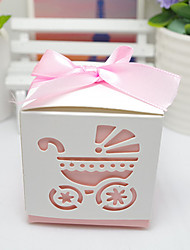 12 Piece/Set Favor Baby carriage Favor Boxes / Candy Jars and Bottles / Cookie Bags / Gift Boxes