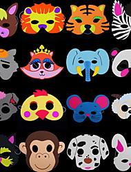 Máscaras de Dia das Bruxas / Máscara animal Leão Decoração Para Festas Halloween / Baile de Máscaras 1Pcs