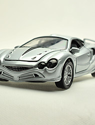 Action Figure / Play Vehicles Model & Building Toy Car Metal Red / Blue / Silver For Boys Above 3