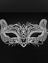 Women's Halloween party Carnival laser cutting metal Venice fox mask3006A1