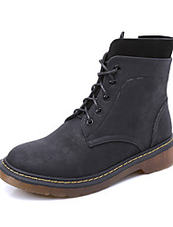 Women's Boots Winter Comfort  Casual Low Heel Black / Yellow / Gray