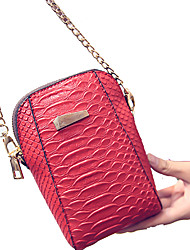 Women Crocodile Casual / Outdoor Mobile Phone Bag