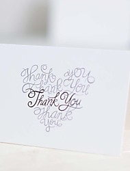 The wedding gift 25 pieces Top Fold Wedding InvitationsEnvelope Sticker / Mother's Day Cards / Invitation Cards / Thank You Cards / Response Cards
