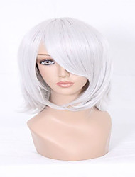 The Latest Styles No Flaws D.Gray Man Allen Walker Silvery Grey Short Straight Man Cosplay Wig