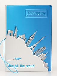 Путешествия Органайзер для паспорта и документов / Обложка для паспорта Хранение в дороге Водонепроницаемый / Защита от пыли / Переносной
