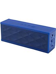 (Note Blue) Water Cube Four Key Bluetooth Card Speakers