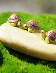 Moss Microscopic Landscape Meat Plants Decoration Doll Decoration Stone Turtle DIY Materials