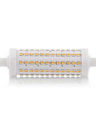 R7S 118mm 108SMD 2835 12W Warm/Cool White 950-1000LM 360 Beam Horizontal Plug Lights Dimmable Flood Light AC85-265V