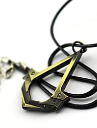 Plus d'accessoires Inspiré par Assassin's Creed Connor Anime/Jeux Vidéo Accessoires de Cosplay Plus d'accessoires Doré / Argenté Alliage