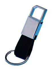 (Note quatre emballés) haut de gamme porte-clés en cuir automobile exquise