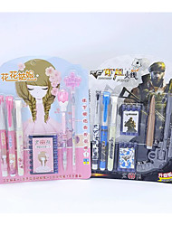 Pen Pen Fountain Pens Pen,Plastic Barrel Black / Blue / Random Colors Ink Colors For School Supplies Office Supplies Pack of PEN
