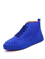 Men's Chukka Rivet Studded Ankle Boots High Top SB Skateboard Basketball Sneakers Athletic Casual Outdoor Sport Winter Shoes
