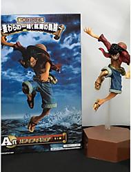 One Piece Monkey D. Luffy PVC 22cm Figures Anime Action Jouets modèle Doll Toy