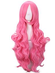 rose bouclés perruques synthétiques harajuku perruque pelo naturels perruques synthétiques femmes résistant à la chaleur Perruque