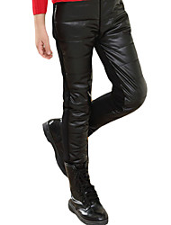Pantalons Fille Décontracté / Quotidien Couleur Pleine Faux Cuir Printemps / Automne