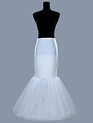 Slips Ball Gown Slip Floor-length 1 Polyester White