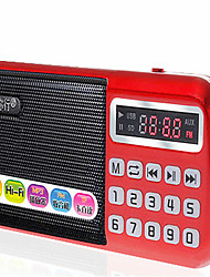 With Your Line B-898 Old Card Radio Old Man Portable Mp3