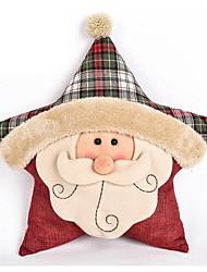 1 pcs Cotton/Linen / Nonwovens Novelty Pillow,Holiday Accent/Decorative
