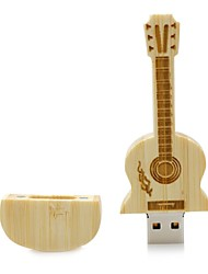 Neutre produit Wooden Guitar 8Go USB 2.0 Anti-Choc