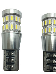 2pcs 12v 6w t10 lampe LED-bus peut led readling lampe led lampe de plaque d'immatriculation