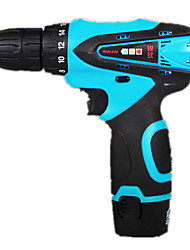 Household Electric Screwdriver (12V Two-Speed Plastic Box -1 Electric Charge)