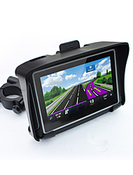 Hot 4.3 Waterproof IPX7 Motorcycle GPS Navigation MOTO Navigator With FM Bluetooth 8G Flash Prolech Car GPS Motorcycle