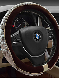 Winter Car Steering Wheel Cover