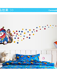 Cartoon /  Holiday Wall Stickers Plane Wall Stickers / Luminous Wall Stickers Decorative Wall Material Removable