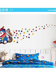 Bande dessinée / Mode / Vacances Stickers muraux Stickers avion / Stickers muraux lumineux Stickers muraux décoratifs,pvc Matériel