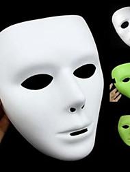 masque de halloween wuke danse fantôme lumineux danse masque blanc masque danse wuke masque hip-hop