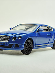 Action Figure / Play Vehicles Model & Building Toy Car Metal Green / Blue / Orange For Boys Above 3
