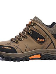 Men's Athletic Shoes Comfort PU Outdoor Green / Gray / Khaki