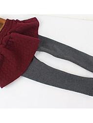 Mädchen Hose-Lässig/Alltäglich einfarbig Baumwolle Winter Blau / Rot