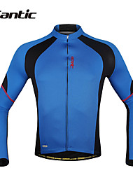 SANTIC® Cycling Jersey Men's Long Sleeve BikeBreathable / Quick Dry / Ultraviolet Resistant / Moisture Permeability / Sweat-wicking /