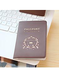 Путешествия Органайзер для паспорта и документов Хранение в дороге Водонепроницаемый / Защита от пыли / Переносной Искусственная кожа