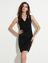Women's Vintage/Sexy/Bodycon/Beach/Casual/Cute/Party/Plus Sizes  Sleeveless Above Knee Dress