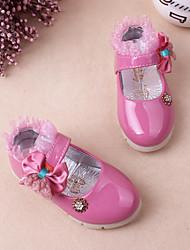 Fille Bébé Ballerines Confort Premières Chaussures Polyuréthane Printemps Automne Décontracté Confort Premières ChaussuresNoeud Scotch