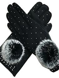 Winter Women'S Gloves (Black)