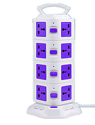 Vertical Socket With USB (Note Purple International)