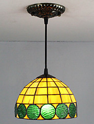 25W Pendant Light ,  Traditional/Classic / Tiffany / Retro Painting Feature for Mini Style Glass Living Room / Entry