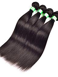 Человека ткет Волосы Малазийские волосы Прямые 3 предмета волосы ткет