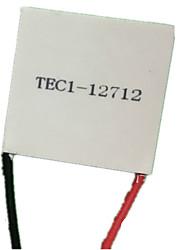 tec1-12712 40 * 40mm 12v12a de alta potência filme refrigeração de semicondutores (nota pacote de 5)