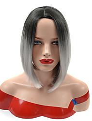 бобо короткая среда делится черный сортовой бабка серый дамы образ жизни ломбера синтетический парик