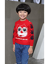 Boy's Casual/Daily Solid Sweater & CardiganWool Winter / Spring / Fall Blue / Red