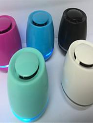 alto-falantes Bluetooth Mini LED luzes compacto mini-cartão de som portátil de áudio