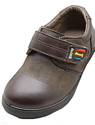 Boy's Flats Spring / Fall Others PU Casual Flat Heel Others / Hook & Loop Brown Others