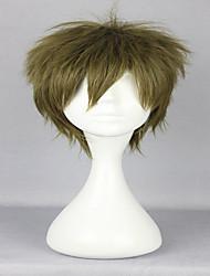 30cm style court bouclés tachibana de makoto libre classique légère mâle cosplay perruque verte
