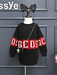 Girl Casual/Daily Print Hoodie & Sweatshirt,Cotton / Rayon Winter / Spring / Fall Long Sleeve Regular