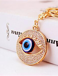 Cool Hee Jewelry Creative New Korea Blue Eyes Eye Feng Shui Hang Bag Buckles Car Keychain Key Chain 564